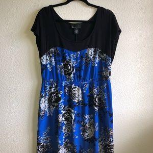 GUC Royal Blue Rose Dress